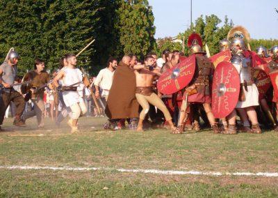 Festa della Centuriazione Romana,Villadose 2007-08